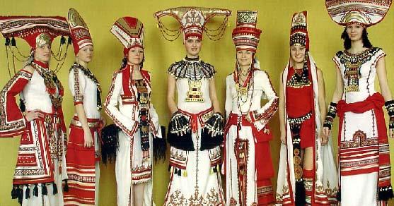национальный костюм мордовский фото
